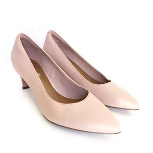 Clarks Collection Nude Pink Crewso Wick Pumps